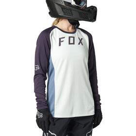 Fox Defend LS Jersey Women, grijs